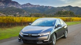 A 2019 Honda Clarity plug-in hybrid.