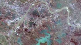 Wuhan Copernicus Sentinel-2
