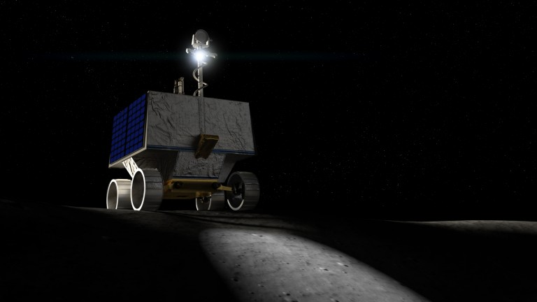 VIPER is a NASA rover that will look for water ice at the moon's south pole.