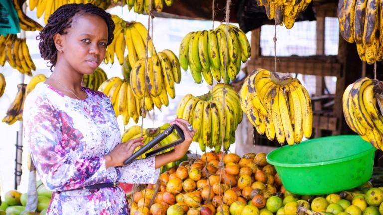 Charity Wayua leads the IBM Research team in Nairobi, Kenya.