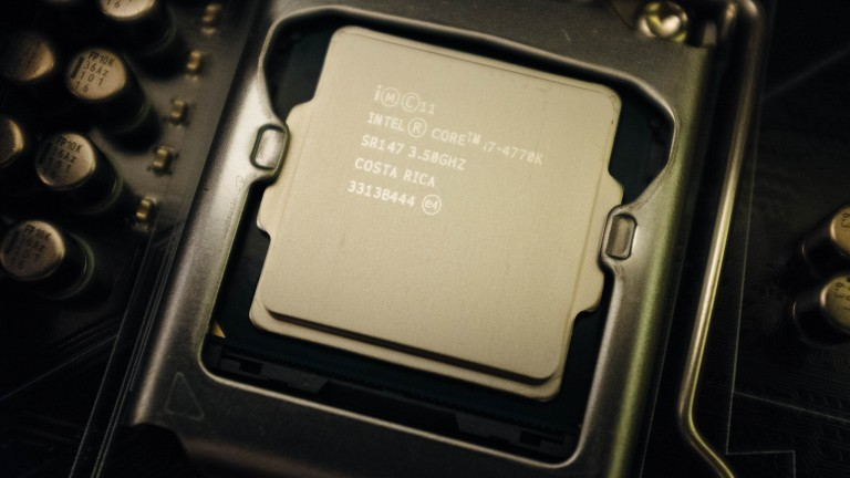 An Intel Core i7 Haswell processor.