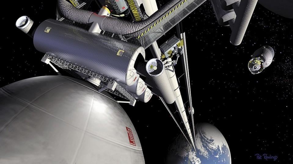 Conceptual space elevator