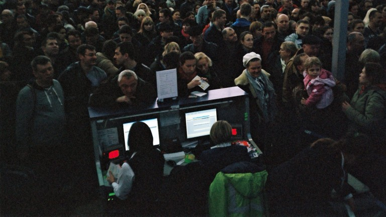Odessa airport has been hit by ransomware.