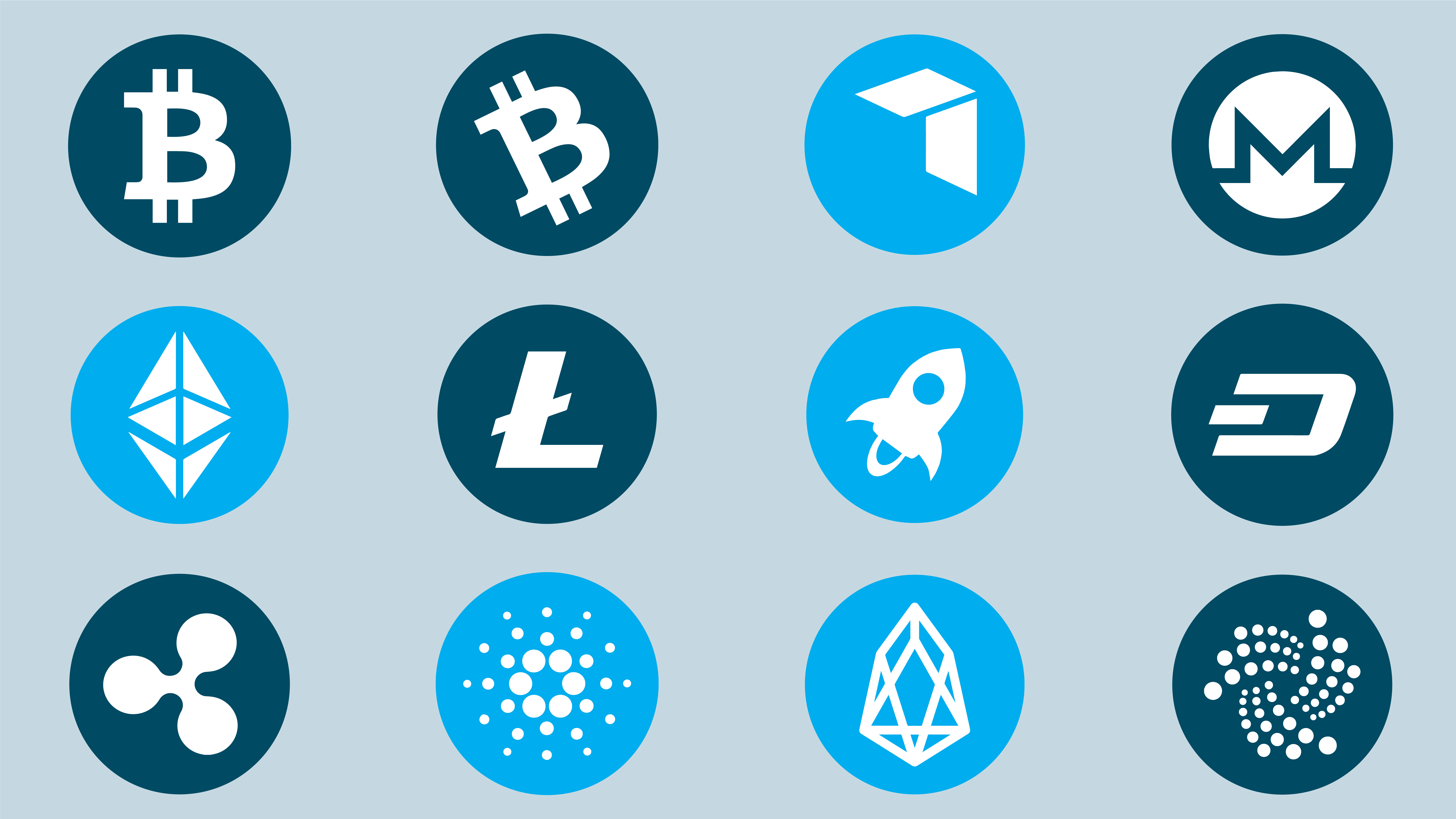 The top 12 cryptocurrencies and what they are—and aren't—good for