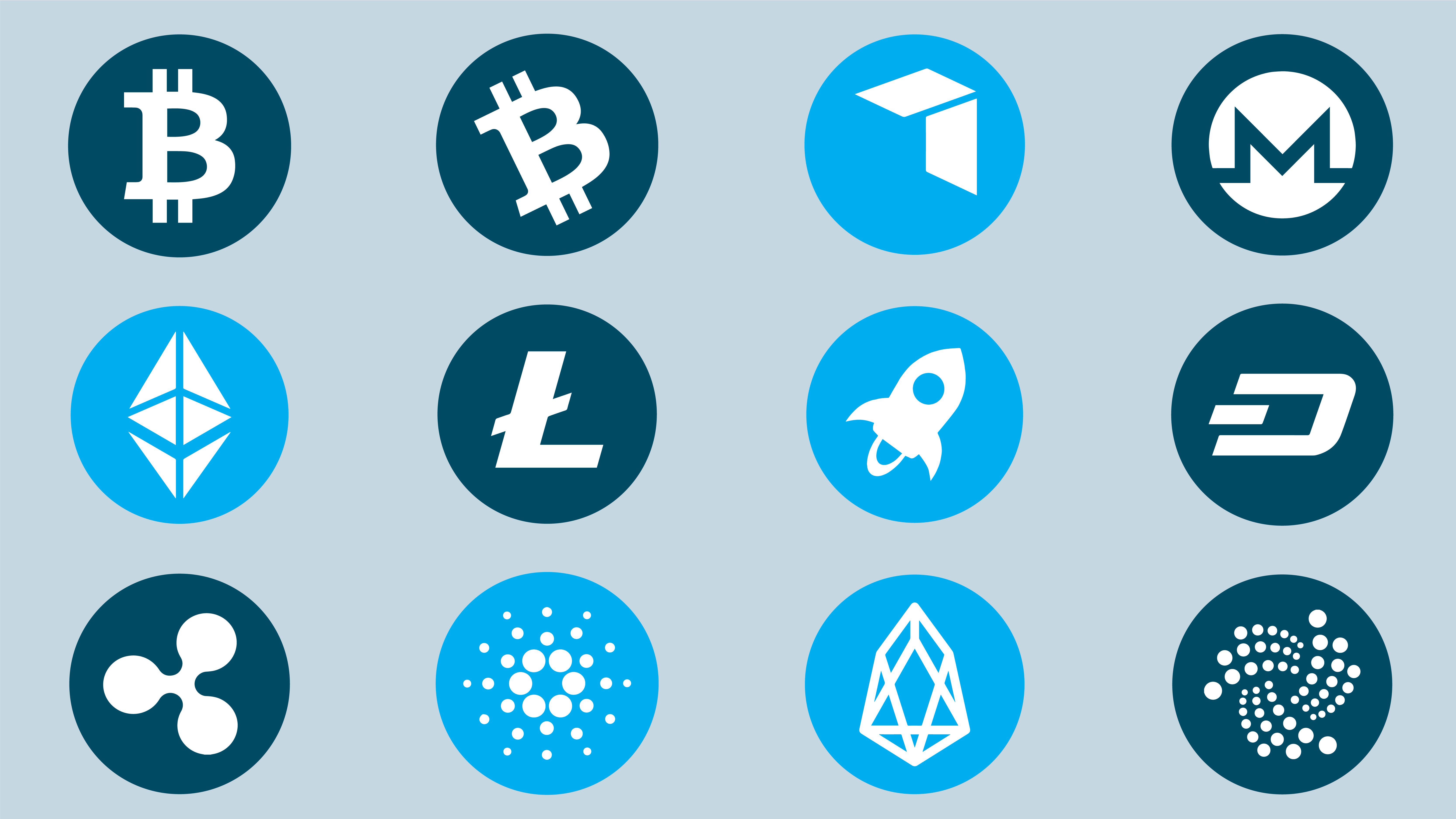 The top 12 cryptocurrencies and what they are—and aren't
