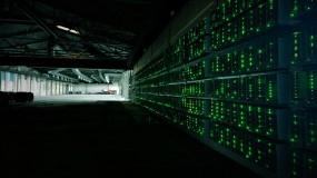 a bitcoin mining rig