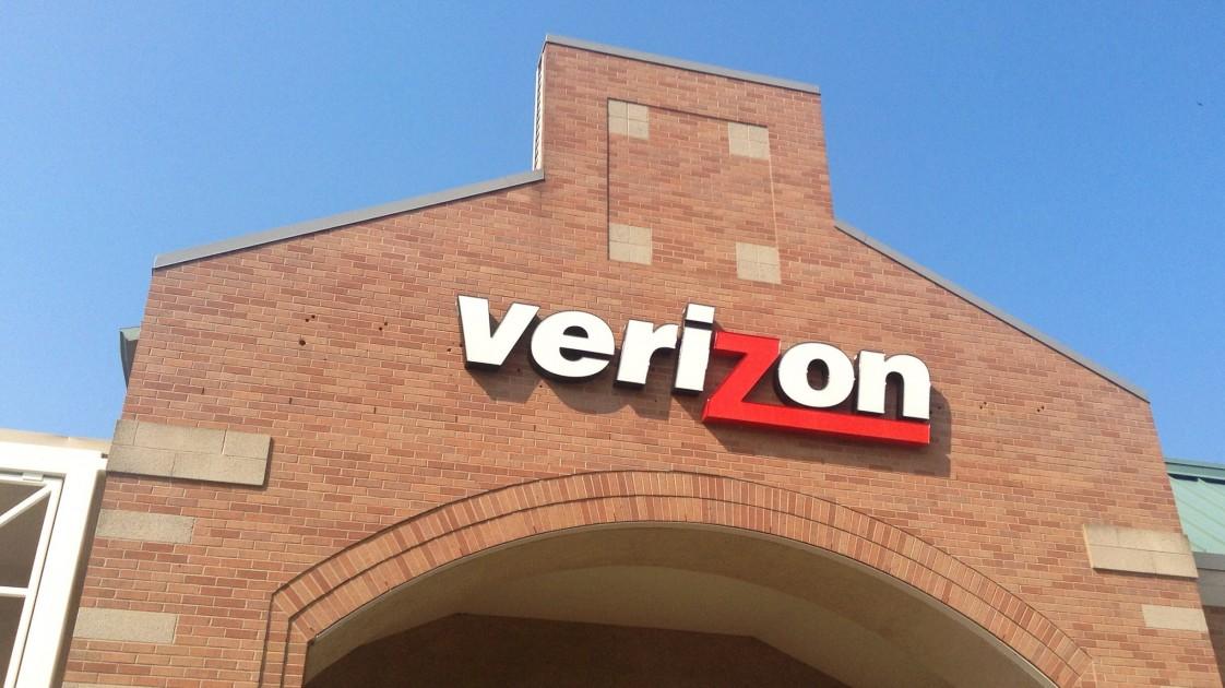 Image of Verizon store.