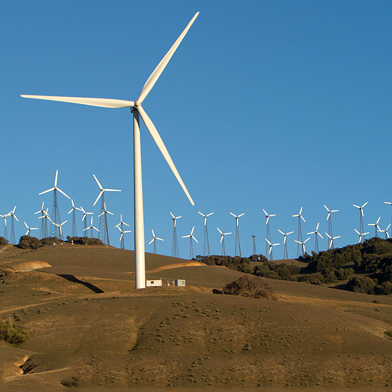 Wind Turbines, Battery Included, Can Keep Power Supplies Stable