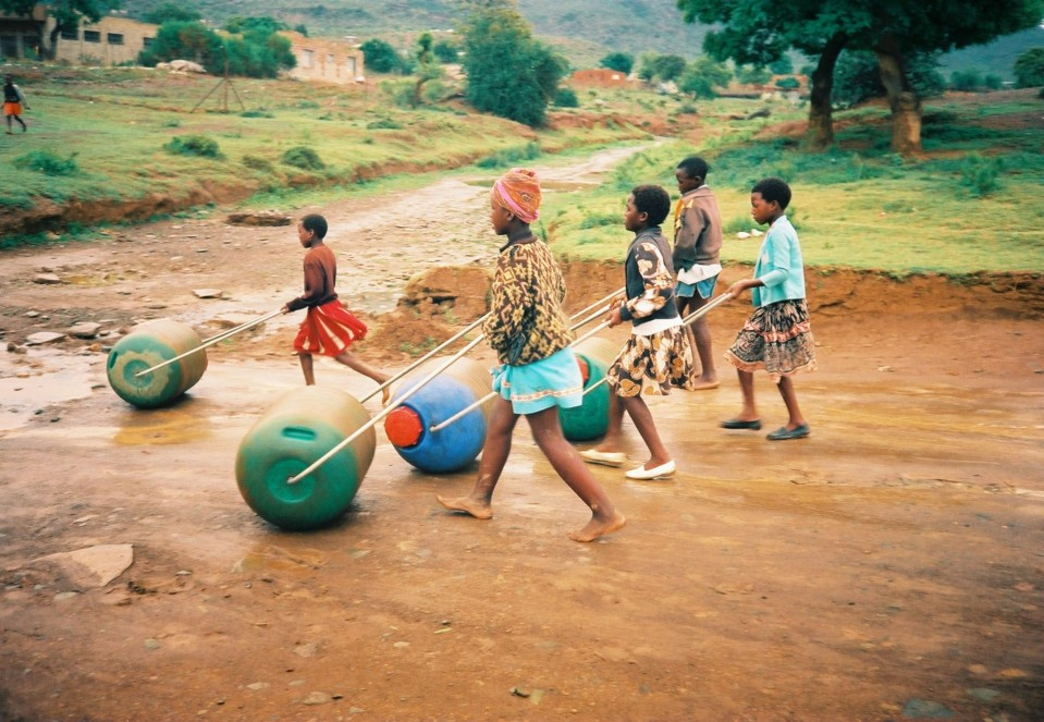 Photo of young people using Hippo Rollers