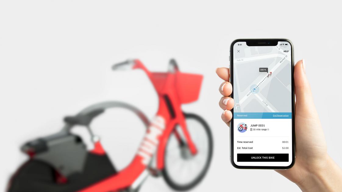 Uber's bike-sharing scheme
