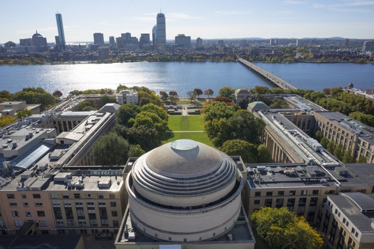 The MIT campus.