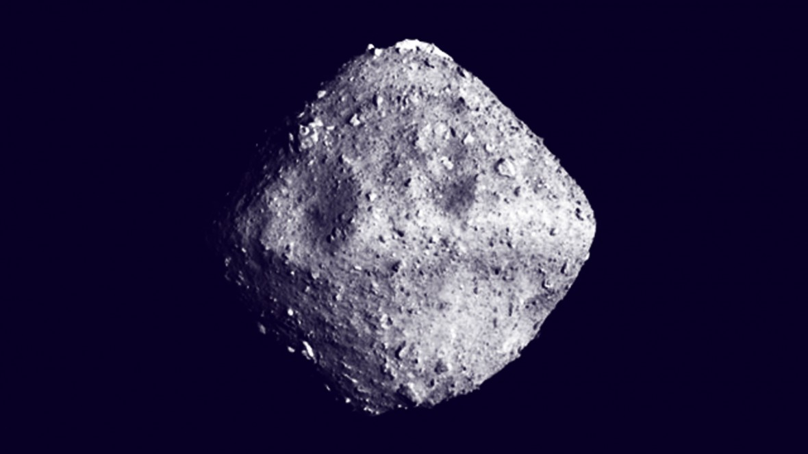 Ryugu is a heap of space rubble that might unlock the mysteries of water on Earth