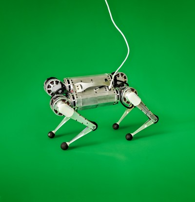 Photo of the Mini Cheetah robot