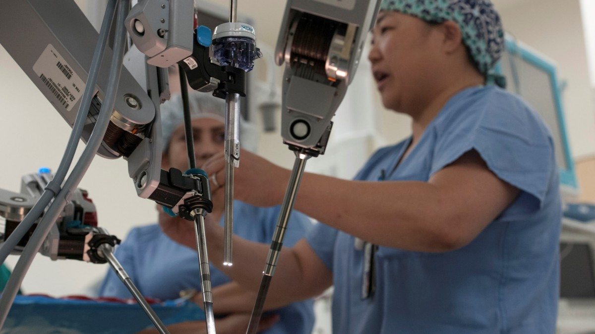 Robot Surgeons Are Stealing Training Opportunities from Young Doctors