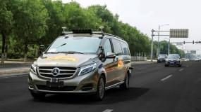 Daimler Baidu car