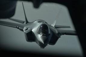 An F-35A Lightning II aircraft