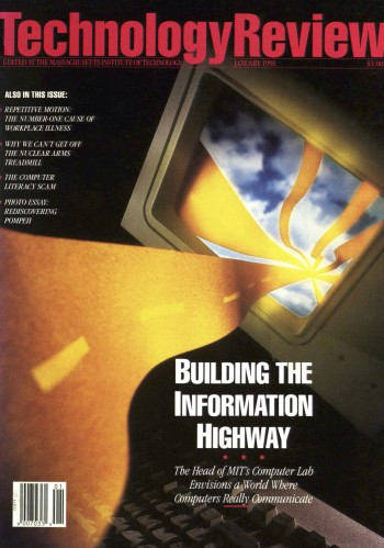 Cover of Tech Review - January 1991