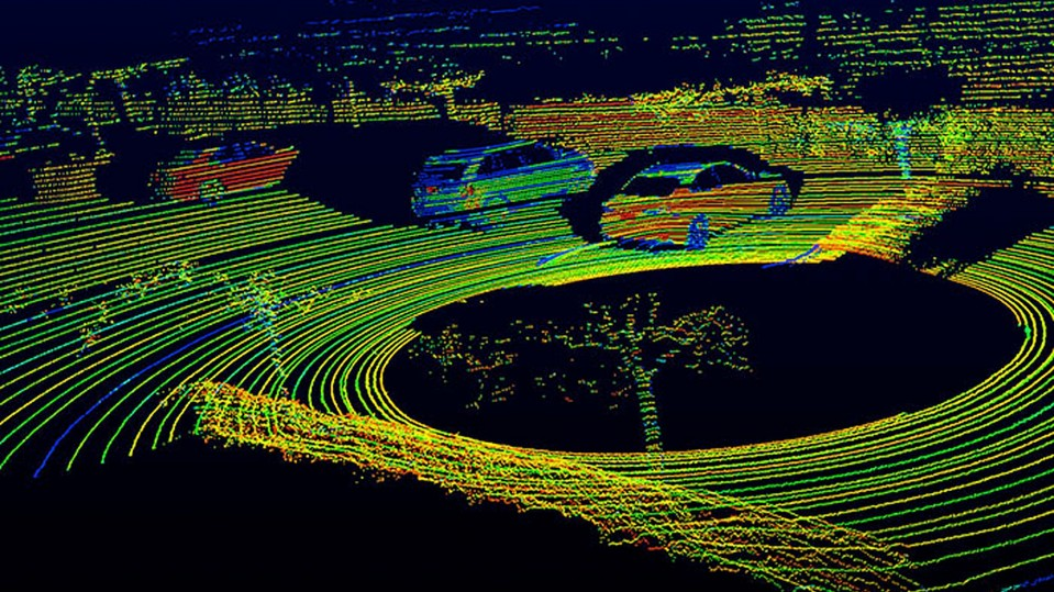 Self-Driving Cars' Spinning-Laser Problem - MIT Technology