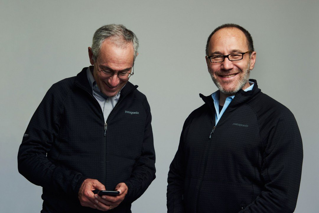 Photo of Tom Insel and Paul Dagum