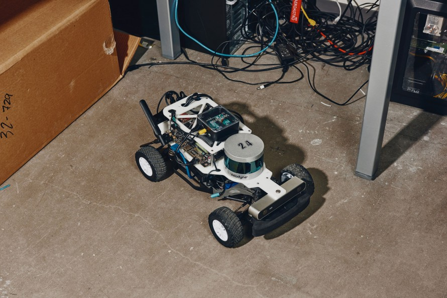 An image of a chip controlled car