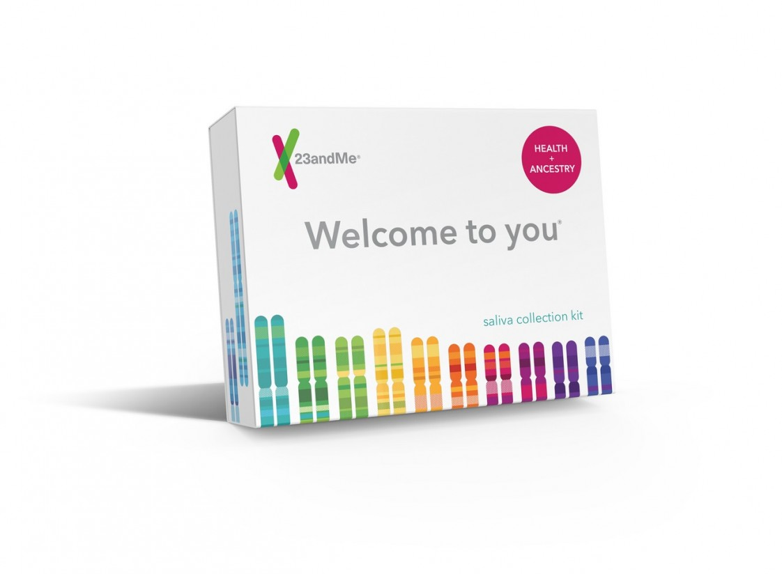 23andMe genetics test