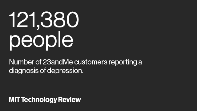 23andMe Pulls Off Massive Crowdsourced Depression Study