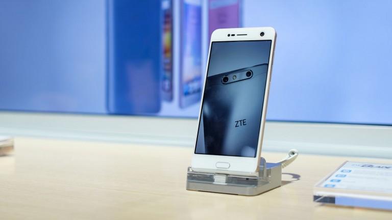 A ZTE smartphone