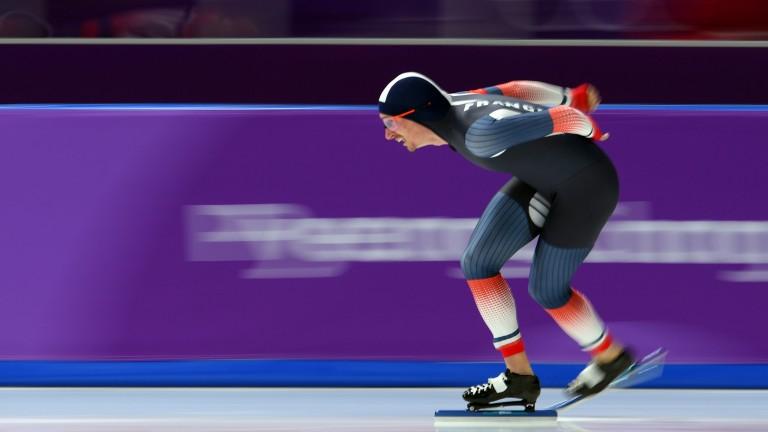 Speed skating at the