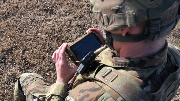 Solider smartphones are getting hacked.