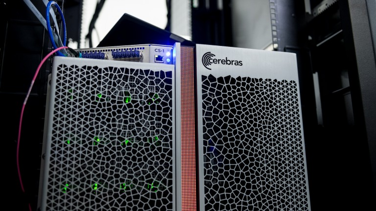 The Cerebras CS-1 computer, optimized for artificial intelligence applications.