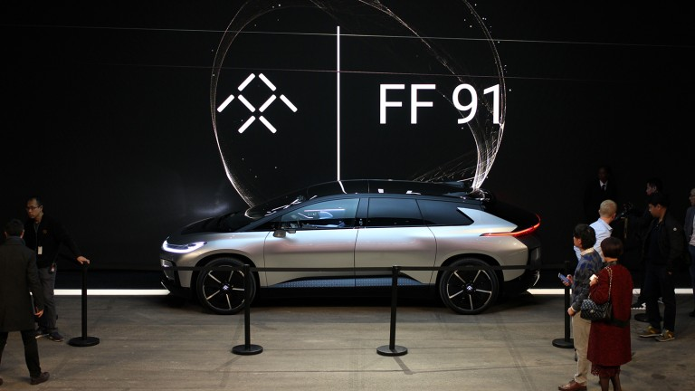 The FF91 electric car looks good, but will it ever get made?