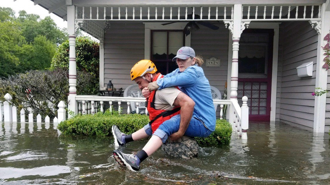 Rescues from Tropical Storm Harvey