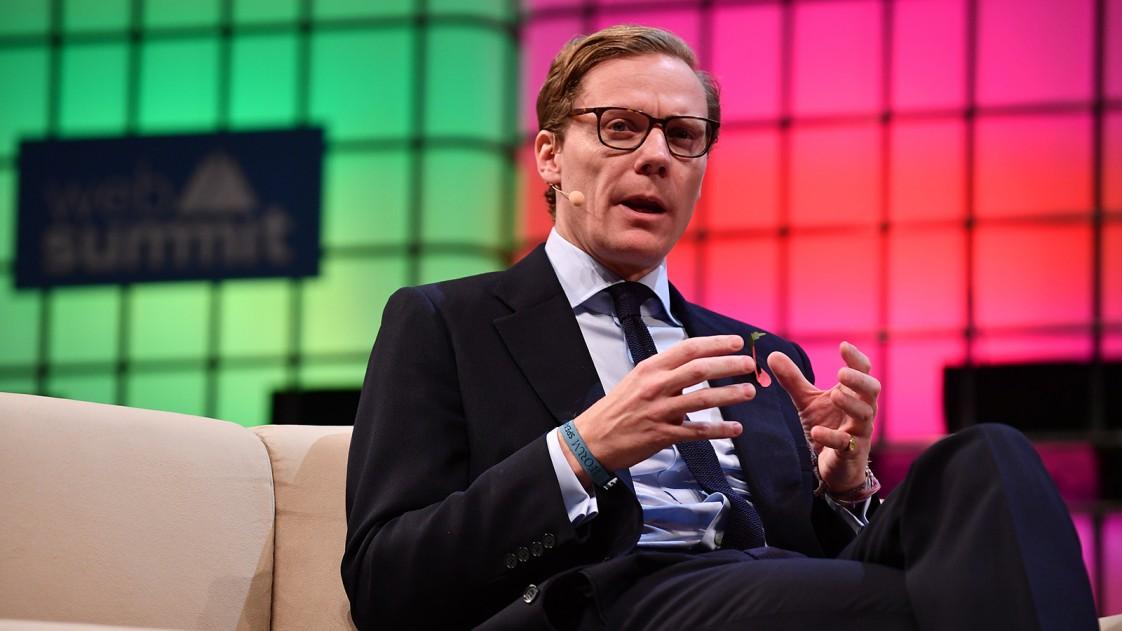 Alexander Nix, CEO of Cambridge Analytica