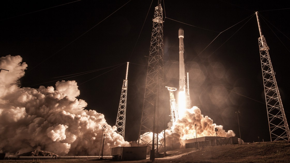 Sunday's SpaceX launch of the Zuma payload.