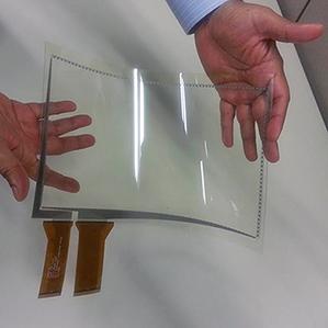 3M Flexible touch sensor