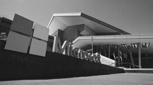 photograph of microsoft campus