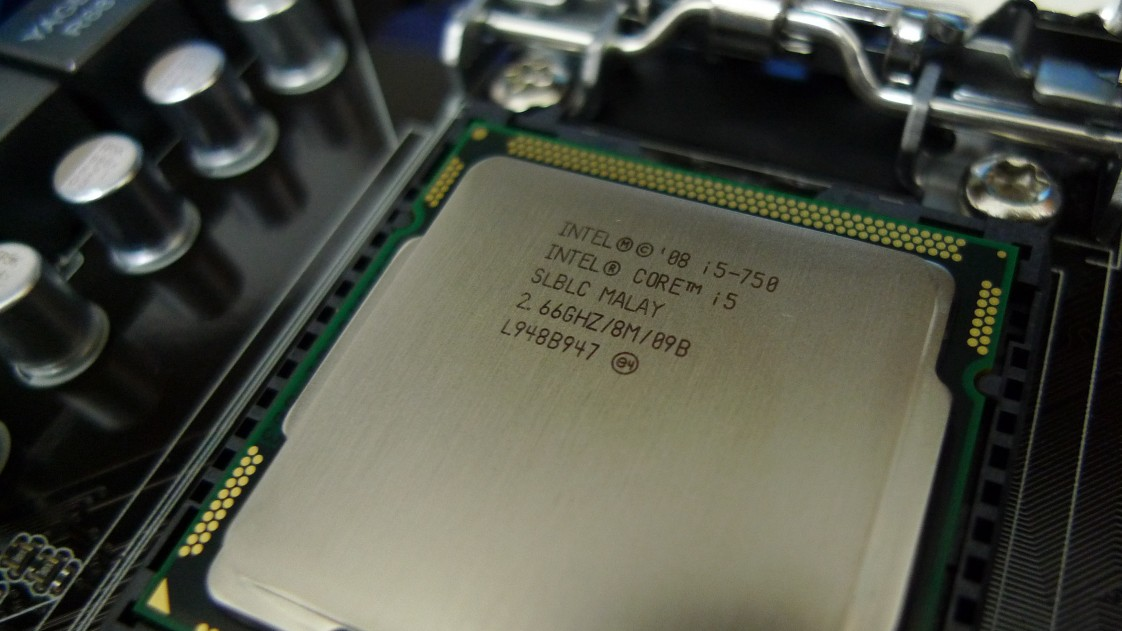 An Intel Core i5 processor