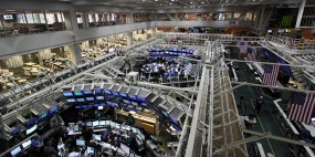 CBOE trading floor