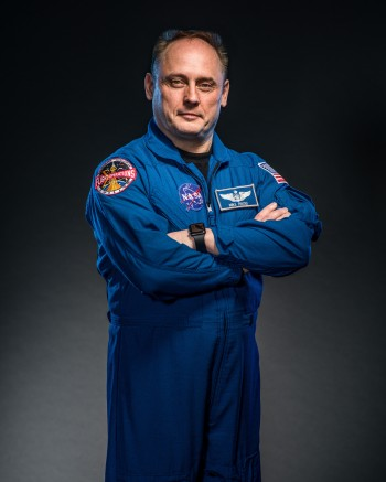Photograph of Astronaut Mike Fincke