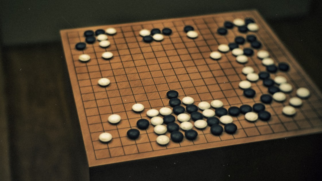The board game of Go