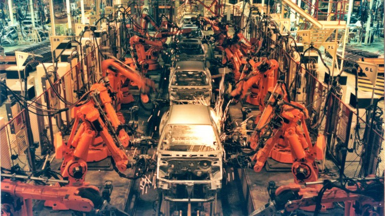 A robotic production line