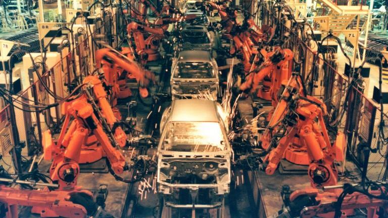 Factory robots