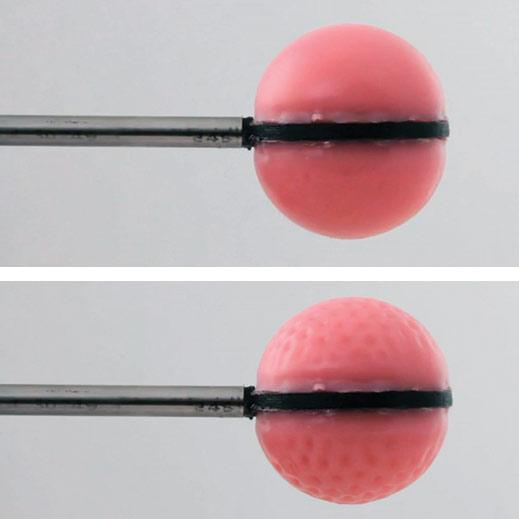 soft polymer spheres