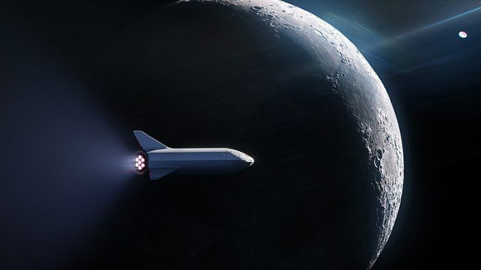 SpaceX #dearMoon mission