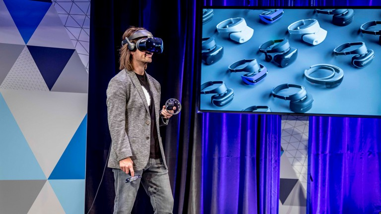 Microsoft is making a big VR push.