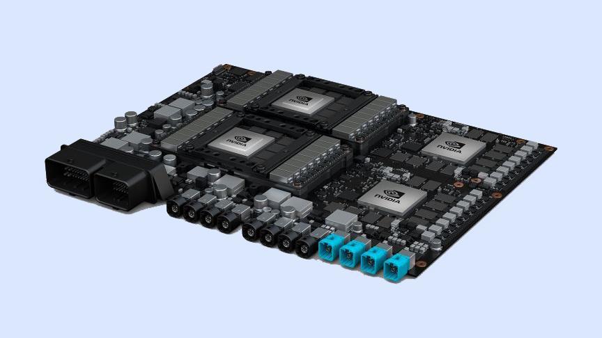 Nividia's new driver car computer packs a punch.