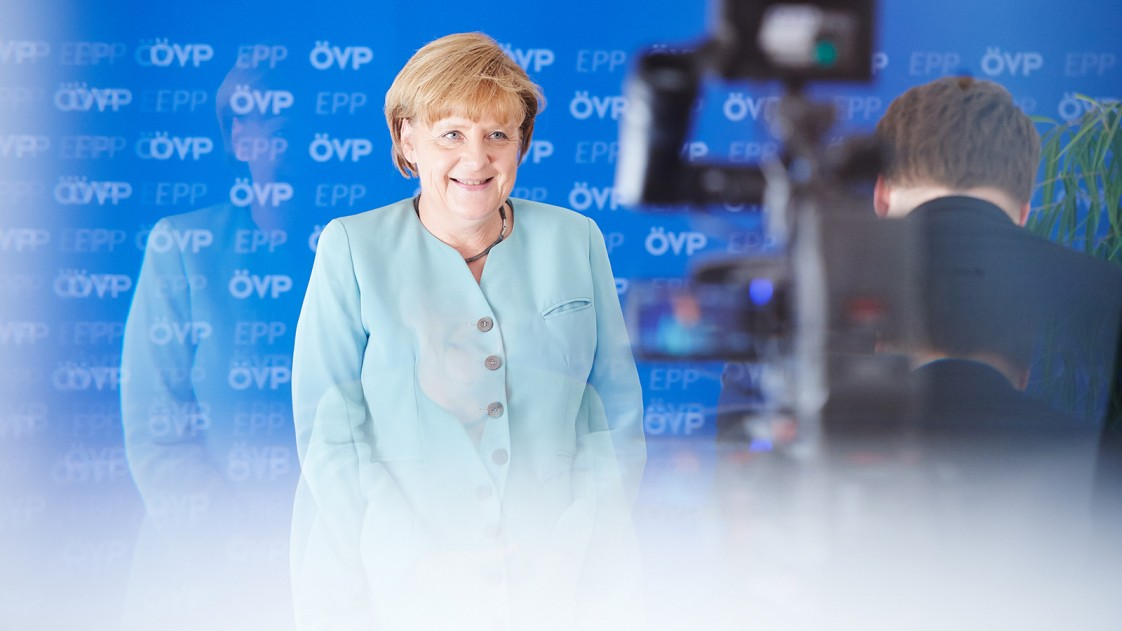 Angel Merkel has
