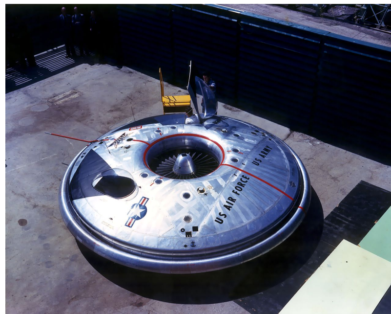The U.S. Air Force's Flying Saucer and Its Link to the X-35 Lightning II