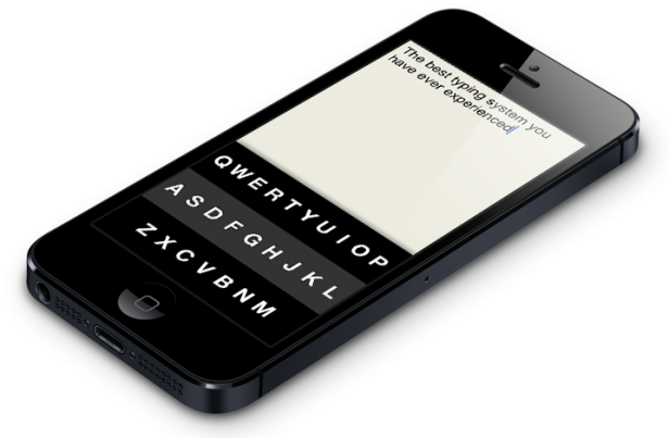 The iPhone Gets Another Virtual Keyboard--Sort of - MIT Technology