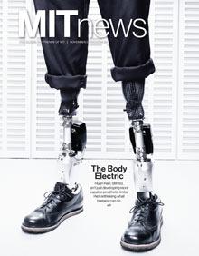 November/December MIT News cover